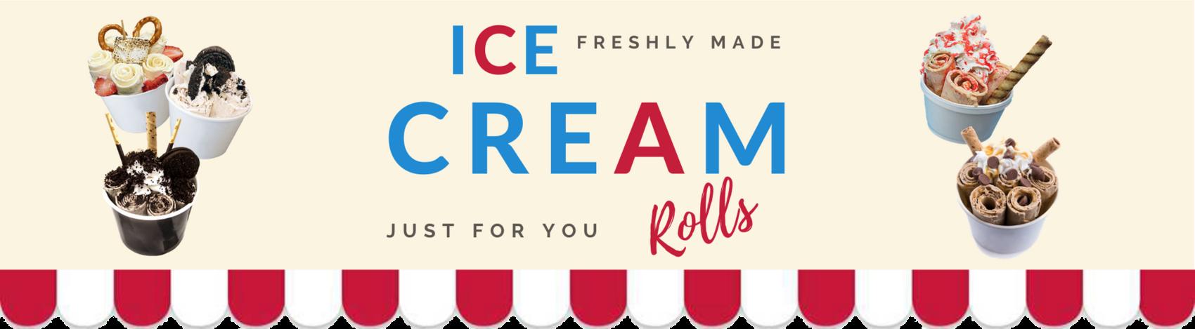 Ice-Cream Rolls