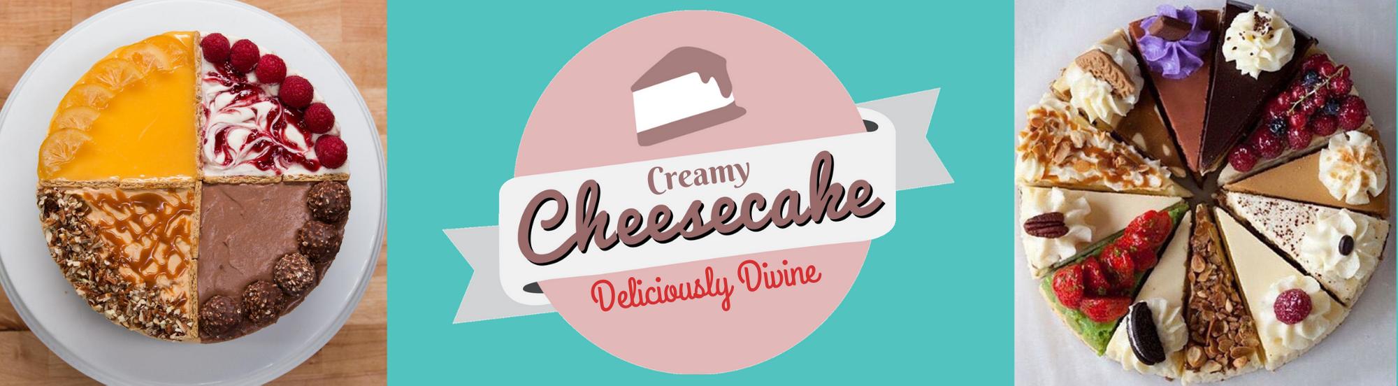 Creamy Cheesecakes